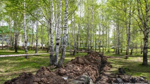 В Первоуральске приступили к строительству храма в Корабельной роще