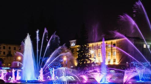 Светомузыкальный фонтан уходит в «зимнюю спячку»