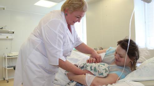 В перинатальном центре Первоуральска на свет появилось 38 младенцев