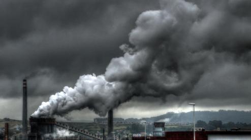Загрязнение воздуха достигло максимума за 16 лет