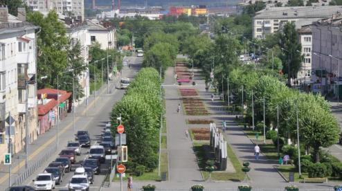 В 2022 году в Первоуральске будут благоустраивать аллею на проспекте Ильича