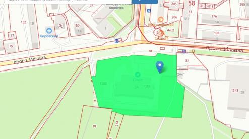 В Первоуральске второе здание бассейна может занять территорию городского парка