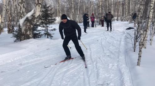 В Первоуральске прошли областные лыжные гонки среди подразделений ГУФСИН