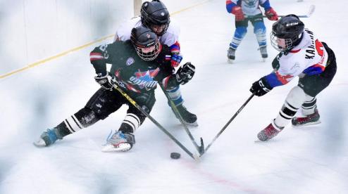 Хоккей на селе