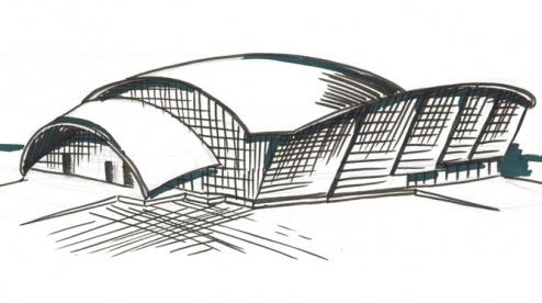 Проектирование крытой ледовой арены в Первоуральске возобновят в следующем году