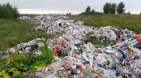 В Первоуральске ликивидируют несанкционированные свалки мусора