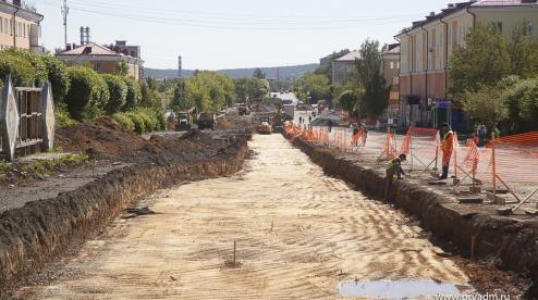 На проспекте Ильича ведутся подготовительные работы для новой дороги
