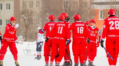 Хоккеисты «Уральского трубника» определились с игровыми номерами
