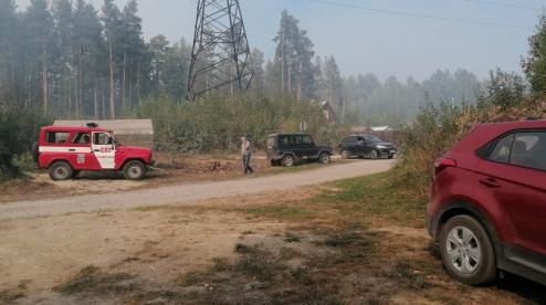 Площадь пожара под Первоуральском возросла до 700 гектаров