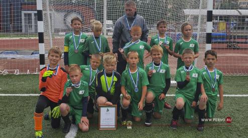 Юные футболисты «Старта» взяли бронзу