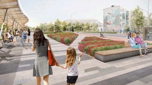 Пешеходную зону на проспекте Ильича реконструируют за 99 млн. рубей