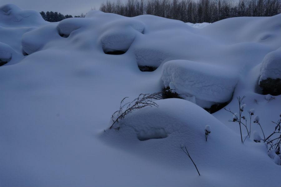 Под Первоуральском обнаружена свалка грязного снега
