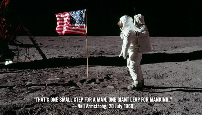 Побывавший на Луне флаг США пустят с молотка
