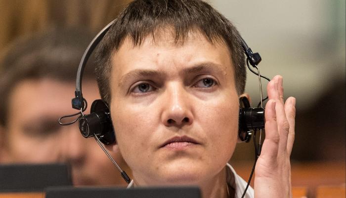 Савченко за 20 секунд описала ситуацию на Украине с 11 матерными словами
