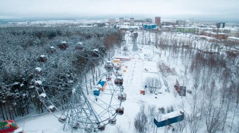 Администрация Первоуральска снова хочет реконструировать «Парк новой культуры»