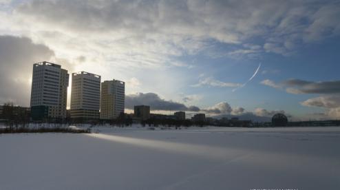 Начало недели в Первоуральске будет теплым и малоснежным
