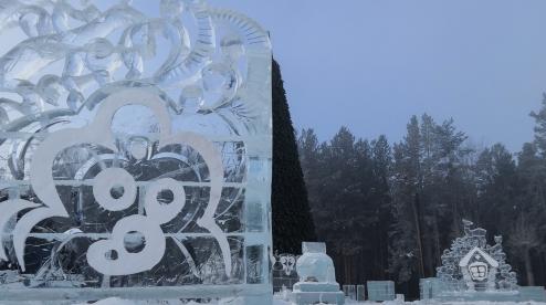 Ледовый городок готов на 60%