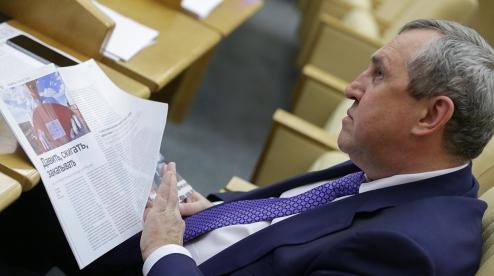 Депутата Госдумы задержали в Екатеринбурге